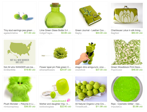 Treasury of the week...Lush Limes & Greens